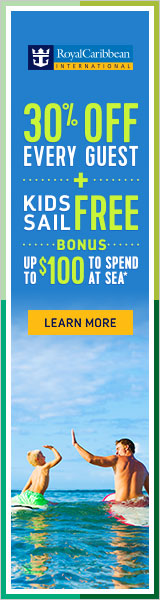 30% off Every Guest on Royal Caribbean from EnjoyVacationing.com