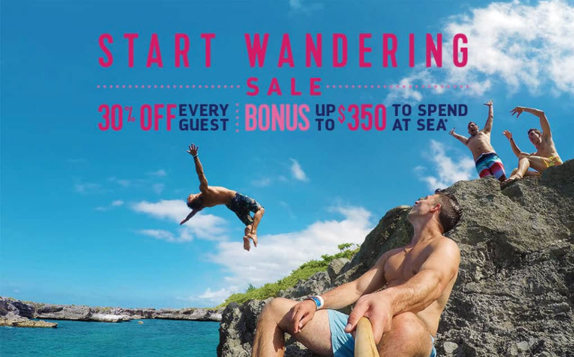 Start Wandering Sale from Enjoy Vacationing