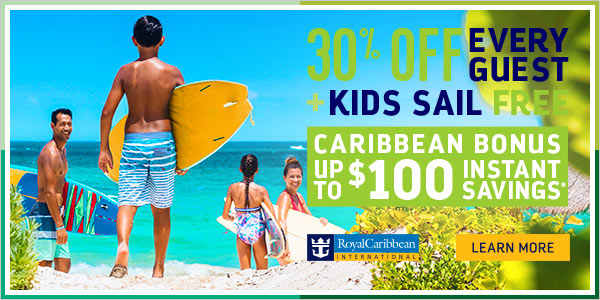 Save big on Royal Caribbean with Enjoy Vacationing