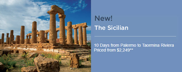 The Sicilian tour - contact info@enjoyvacationing.com today to learn more!