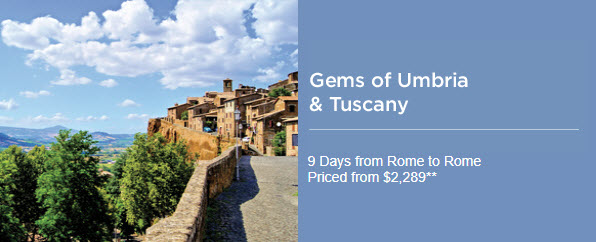 Gems of Umbria & Tuscany Tour - EnjoyVacationing.com