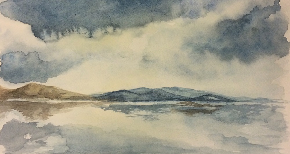 Breacleit - watercolour