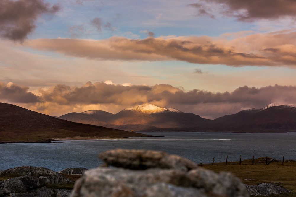 looking out from Seilebost, Isle of Harris