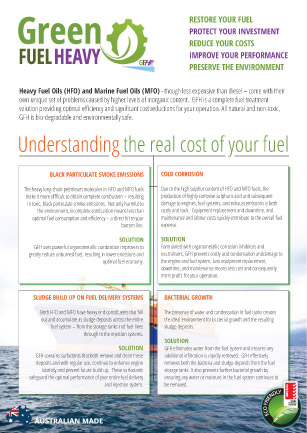 Download our Green Fuel Heavy Brochure