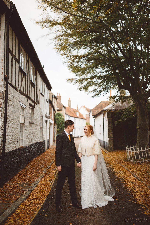 Vicky & Chris' Kent Wedding Photography portrait shoot. November 2016