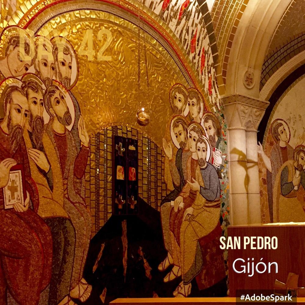 The mosaics in the Ambulatory Chapel