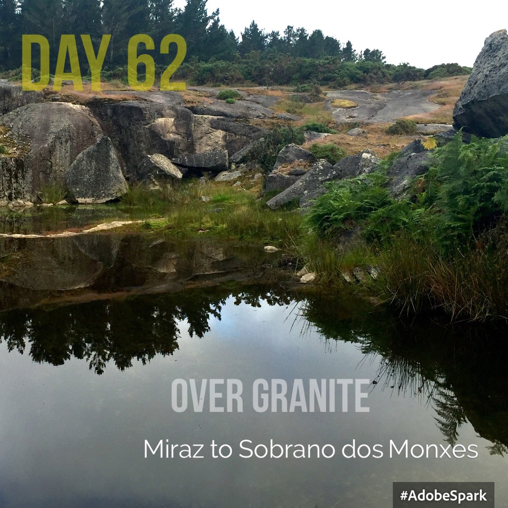 The first part of the day was over granite