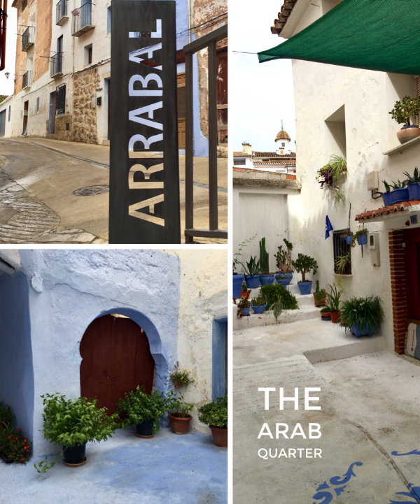 The Arrabal is a maze of whitewashed streets.
