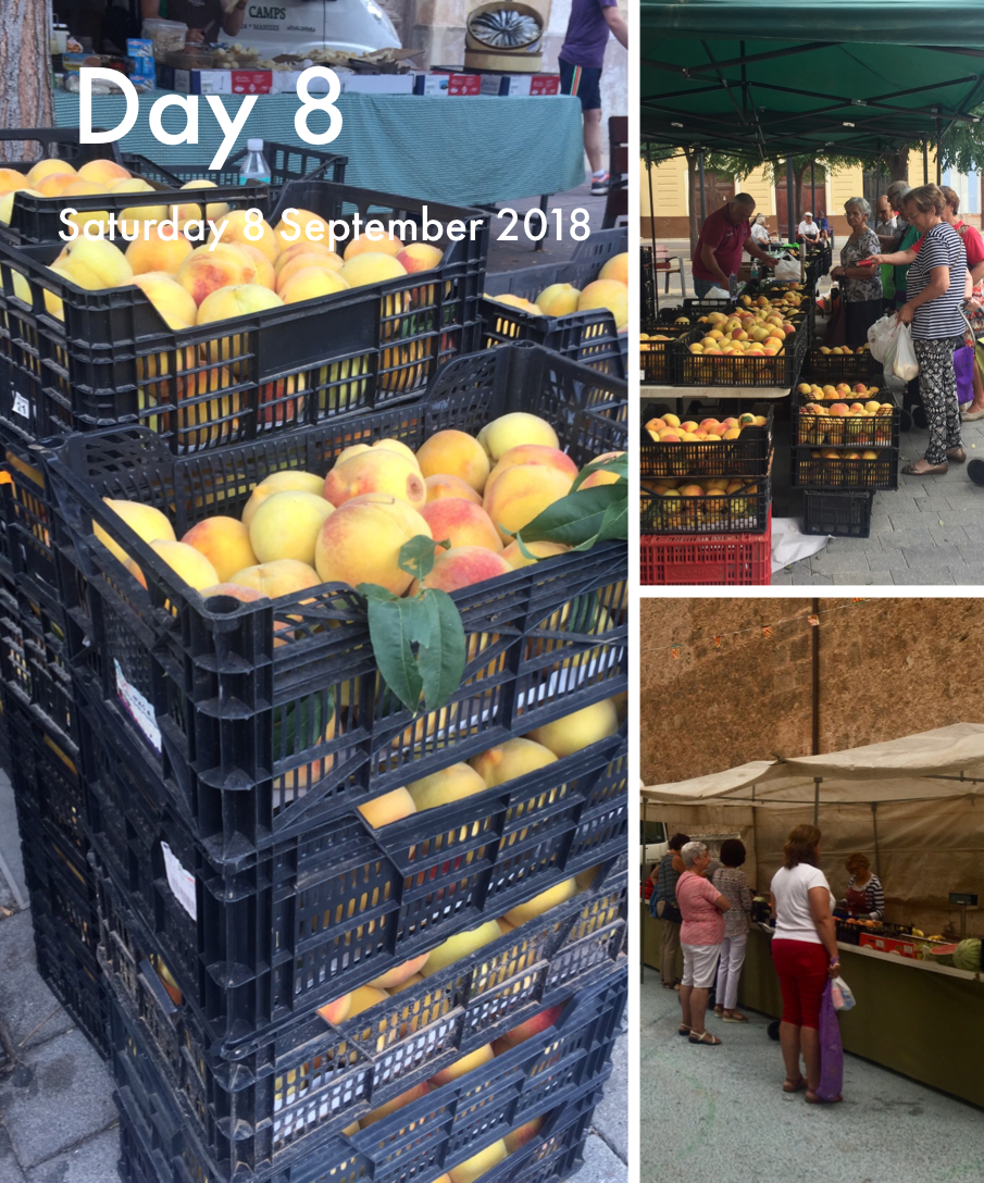 Market Day in the Plaza Mayor