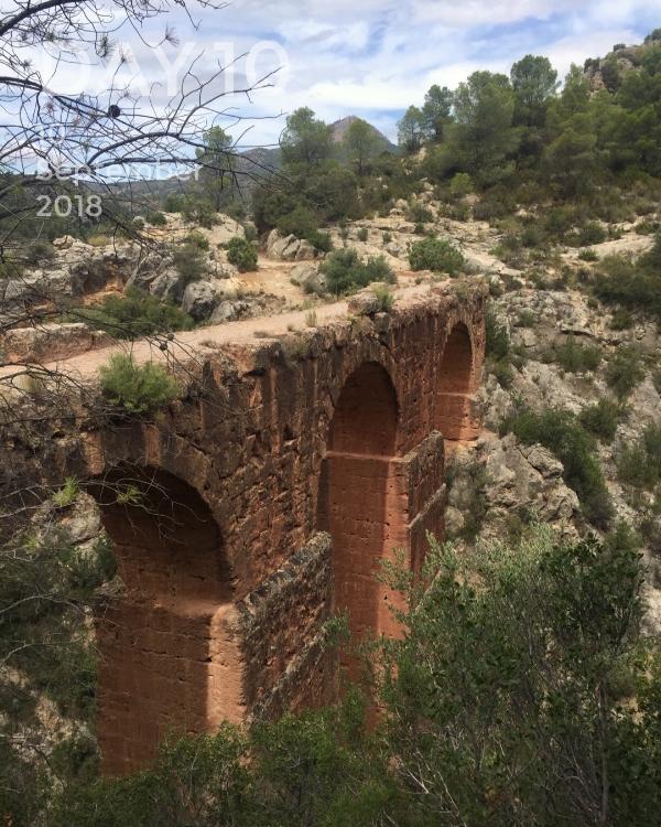 The Peña Cortada Aquaduct