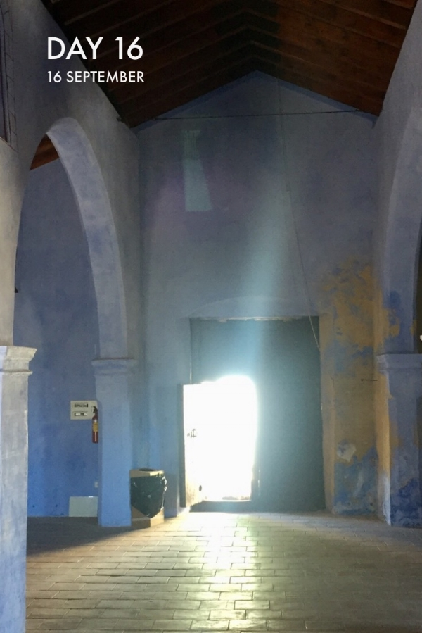 The Old Mosque is a lovely space and I'm wondering about making an installation there?
