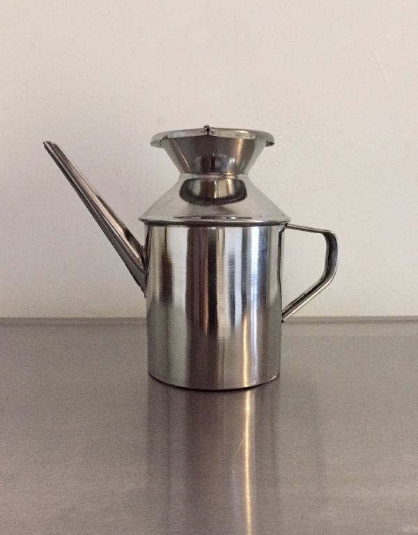 Olive Oil Can (stainless steel).