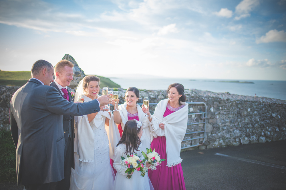 North Coast Dunluce Wedding Photographer Larne Belfast Ireland