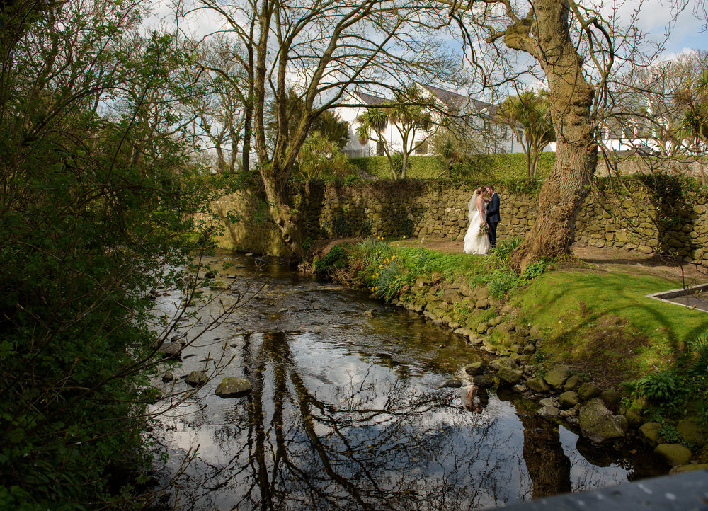 Spring Wedding at Ballygally Castle Hotel