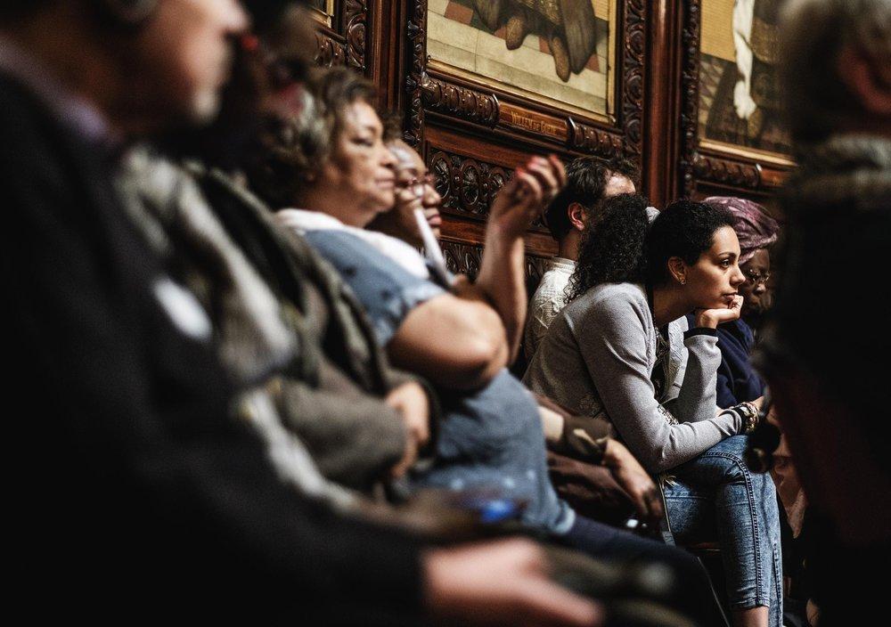 De hoorzitting in de Senaat, afgelopen dinsdag by Bart Dewaele