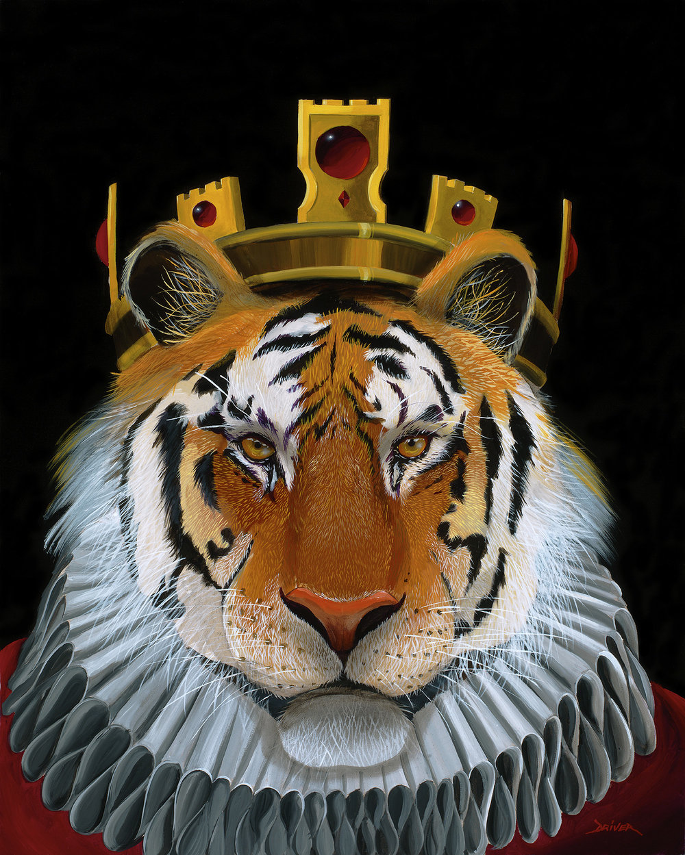 Tiger King 16x20