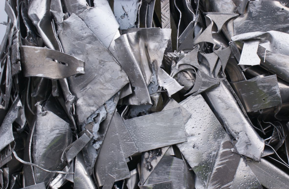 We recycle. The vast majority of our steel products comes from scrap metal.