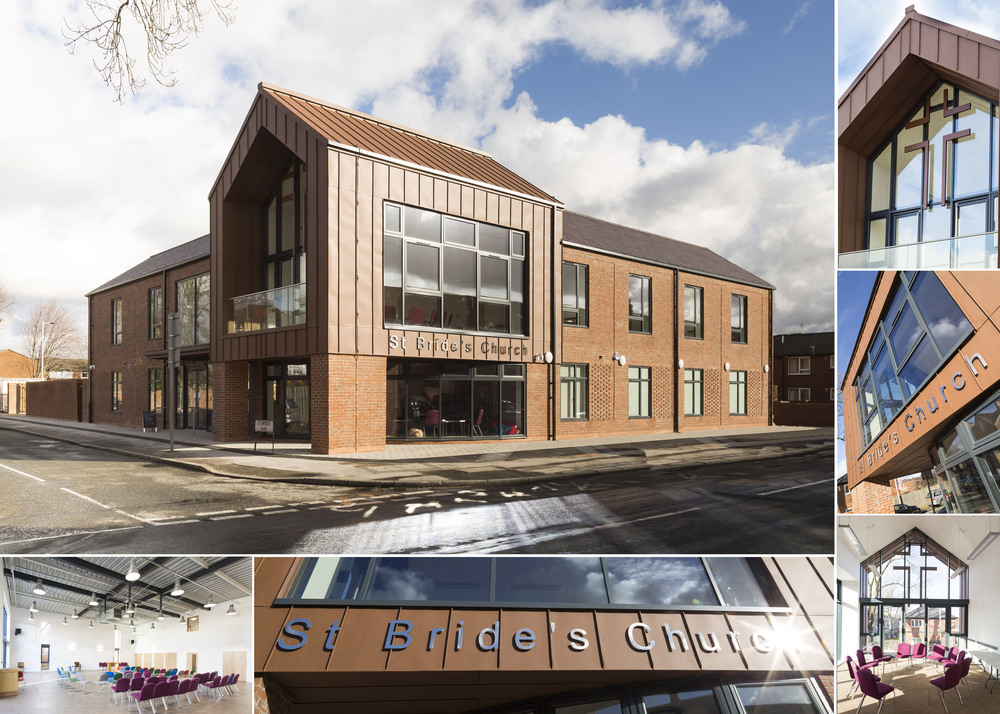 St Brides Church project. Delivered on time and on budget for Willmott Dixon.