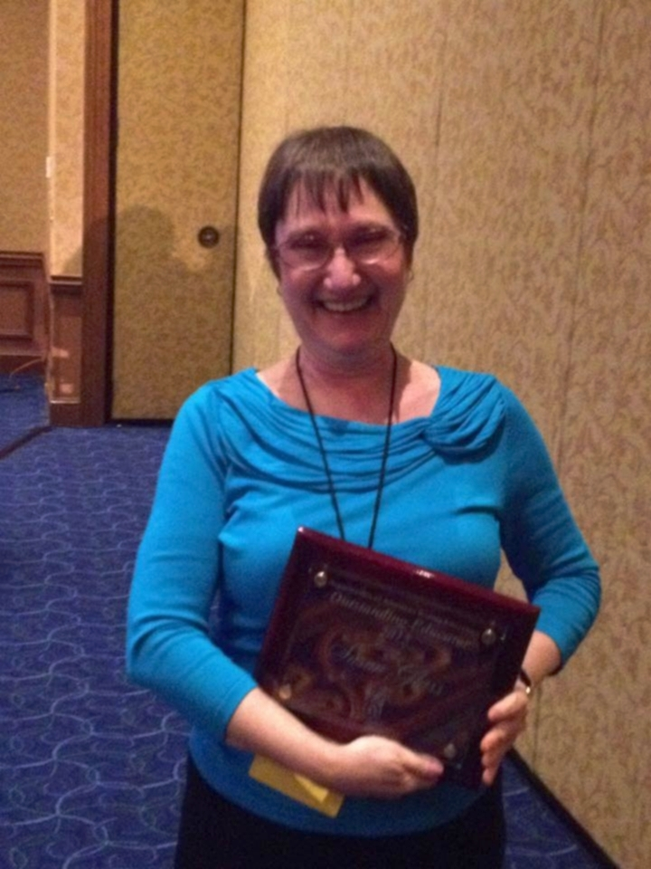 Dr. Susan Glass is the 2015 recipient of the Organization of American Kodály Educators' Outstanding Educator award!