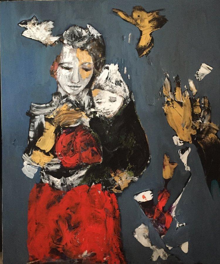 ROSES IN THE VINEYARD.Disintegration | Nicole Cordonier