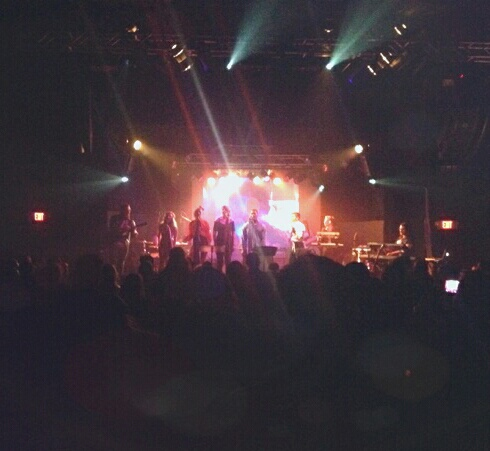 Purple Rain onstage at the Rex