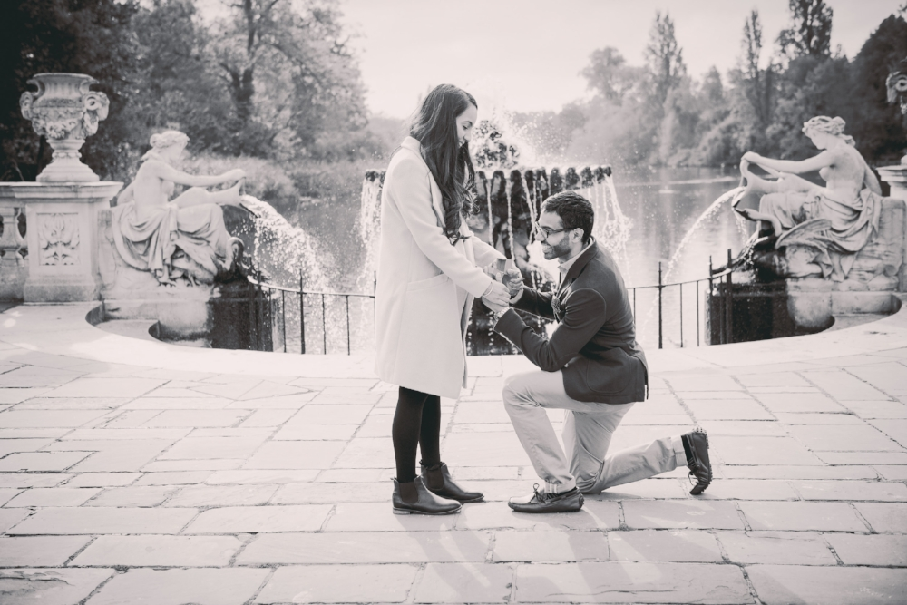 Proposal photographer in London