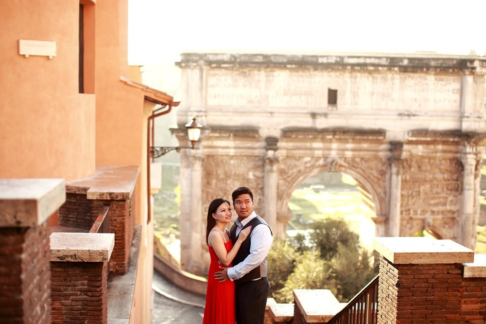 Couple photographer in Rome