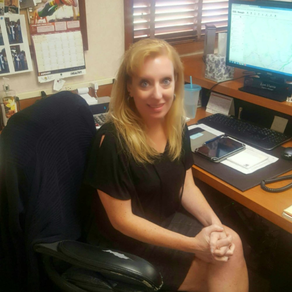 Lori Harris, Logistics Manager