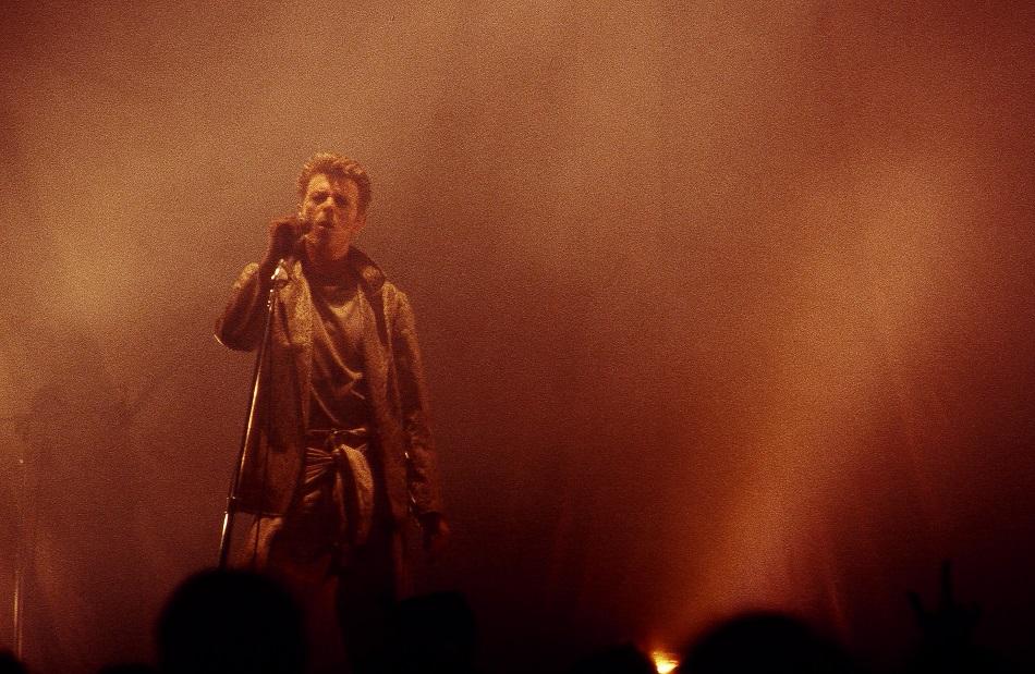 David Bowie at McNichols Arena, Denver, Colorado - 1995 (Yeah, I took this photo)