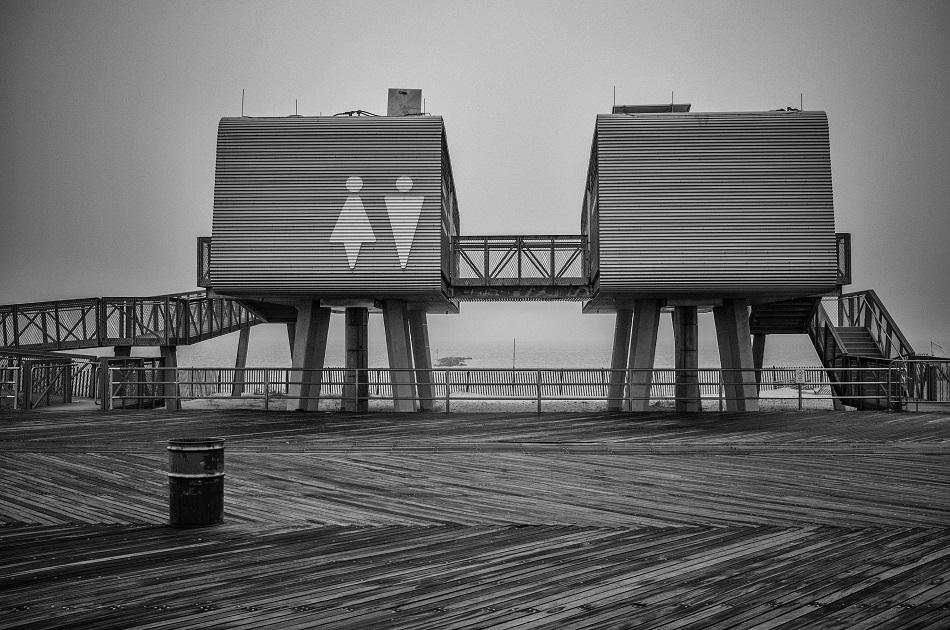 Coney Island Restrooms, December 2015