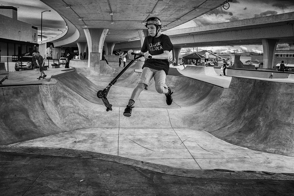 Rhodes Skate Park, Boise, Idaho - 2016