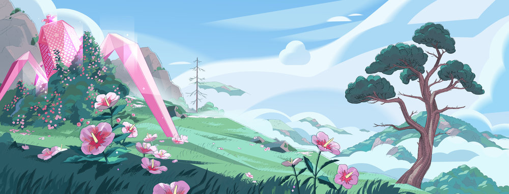 Property of Cartoon Network : Paint by Michelle Kwon, Lines by CN Background Artists