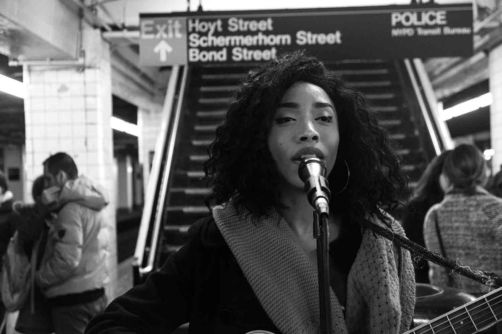 Najah - Singer /Song writer based in NYC.  / © Kiki Provatas. No usage without permission.