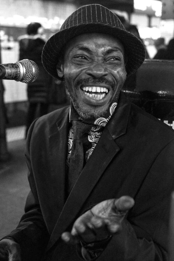 Prince- Drummer West 4th Subway. /  © Kiki Provatas. No usage without permission.