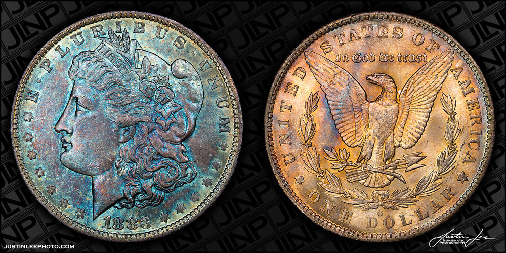 1883-O Morgan Dollar Raw