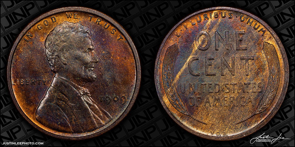 1909 V.D.B. Lincoln Cent Raw