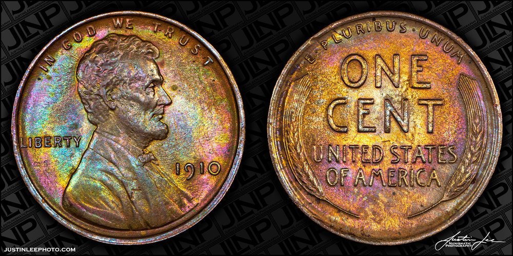 1910 Lincoln Cent Raw