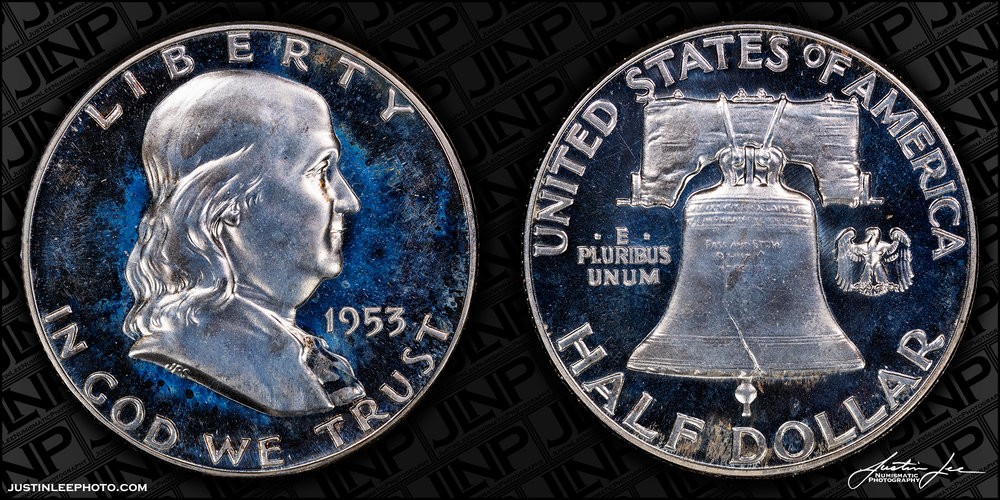 1953 Proof Franklin Half Dollar Raw