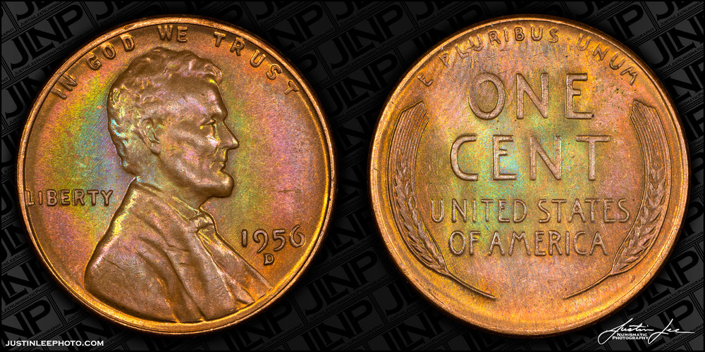 1956-D Lincoln Cent Raw