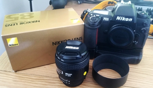Purchased a Nikkor AFD 85mm F1.8 lens.