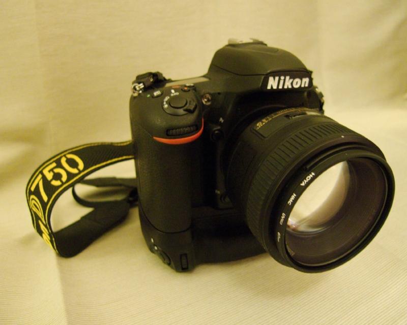 My D750 with the Nikkor 85mm AF-S F1.5G