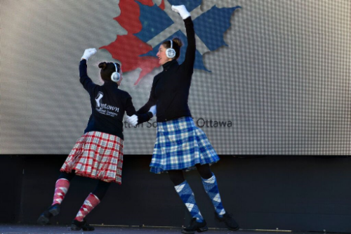 Invite the local scottish societies and dance troops to take part in the kilt skate.