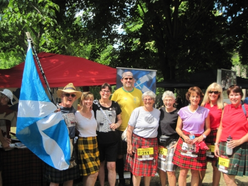 All day, the Scottish Society of Ottawa hosted an information booth.