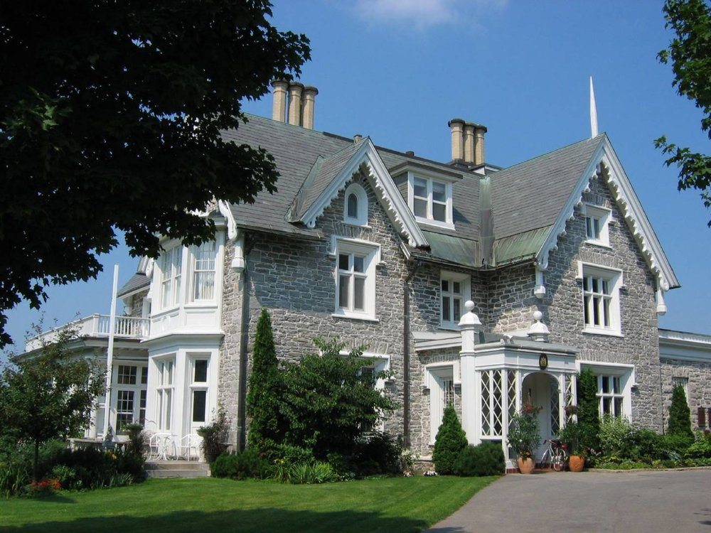 Earnscliffe was the last home in which Sir John A. Macdonald lived, and where he died in 1891.  It is now the official residence of the High Commissioner of the United Kingdom.