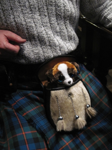 """As ever, Karen Upper is so very generous with her gifts to her friends. This is """"Ginger,"""" she says. Ginger has a new home."""