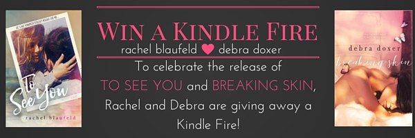 Still open through July 5th, I'm giving away a KINDLE FIRE with Debra Doxer. See Details HERE!
