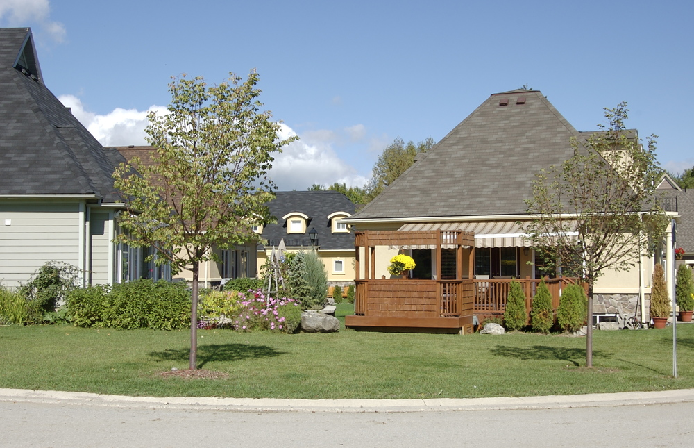 Orillia waterfront homes
