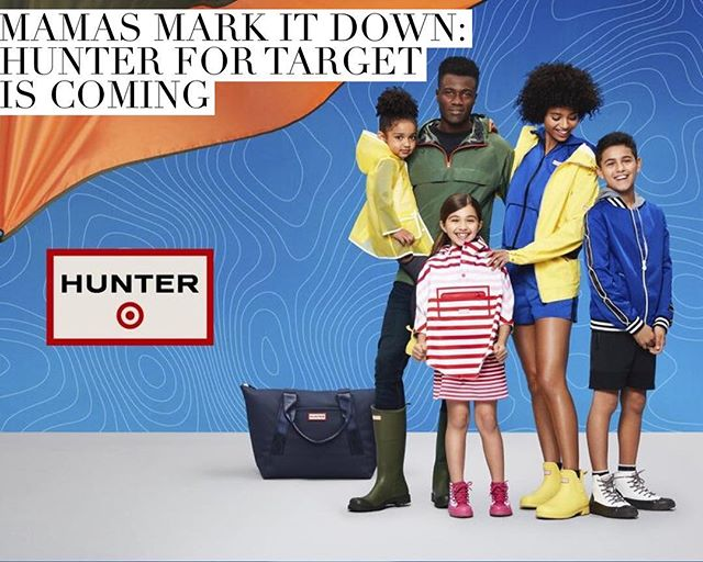 Now this is something we're excited about! Get the deets on the @targetstyle and @hunterboots collab on the blog including price point, items, release dates and more! Link in bio! #hunterfortarget