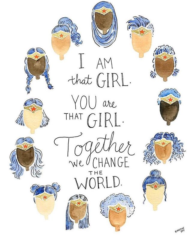 wishing the girls of the world - a remarkable international women's day. ♥️