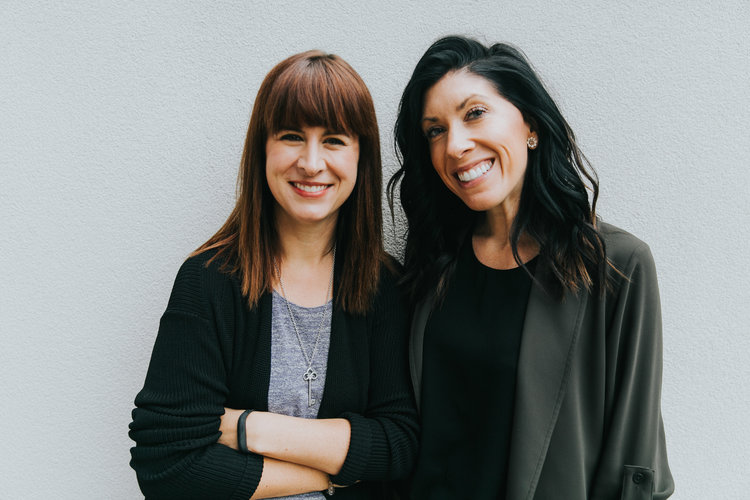 DECCO's founders: Krista and Lisa